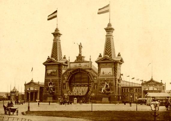 tentoonstellingsgebouw scheveningen 1891