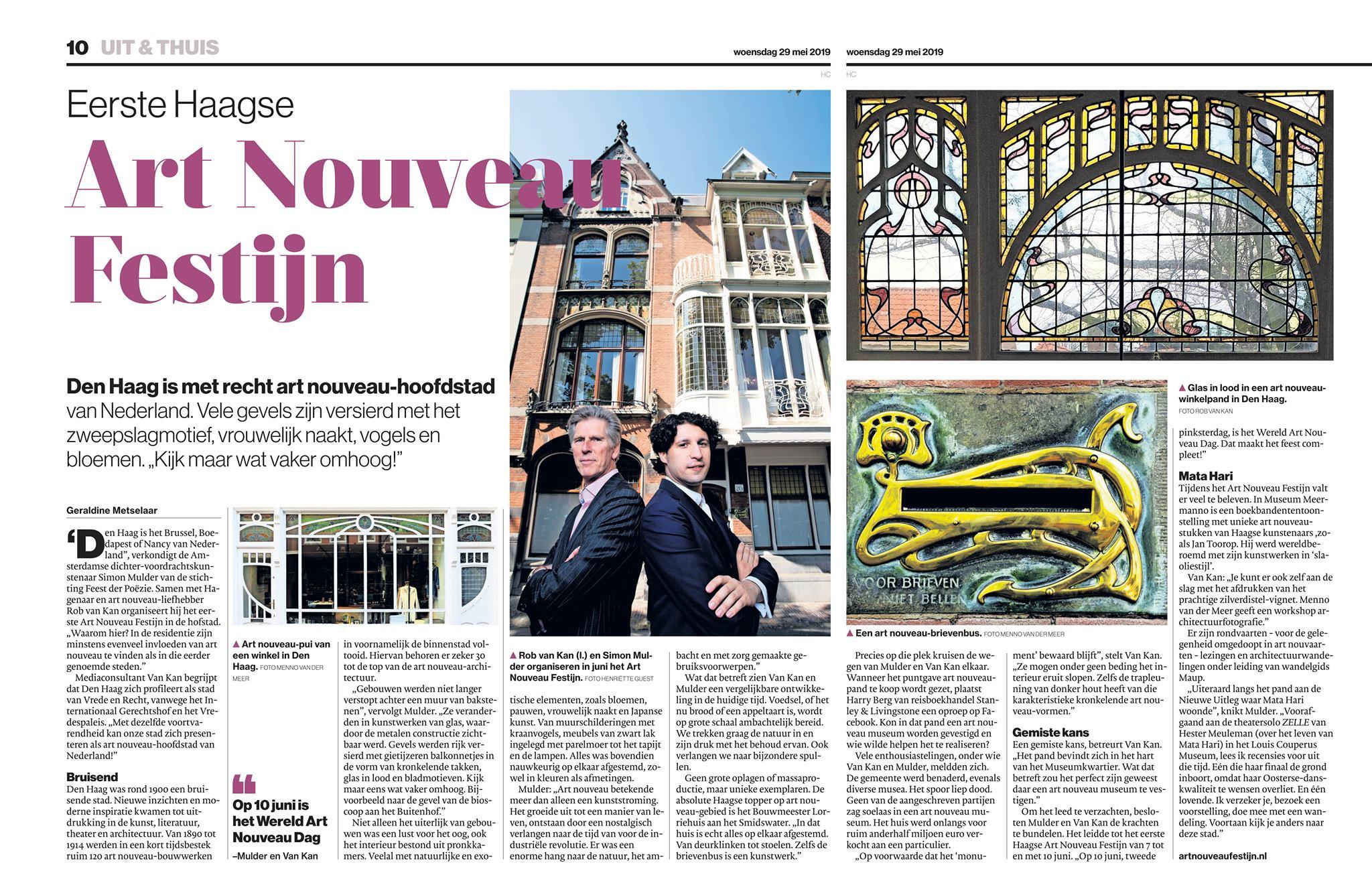 AD_Haagse_Courant_Art_Nouveau_Festijn_20190529