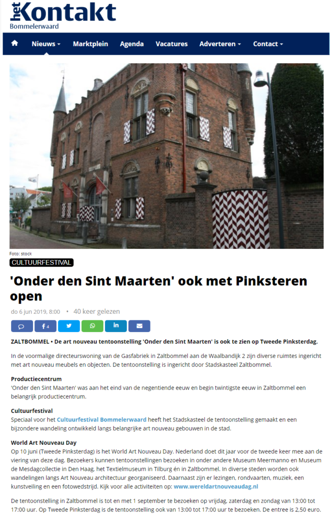 Het Kontakt Bommelerwaard en Het Kontakt Land van Heusden & Altena